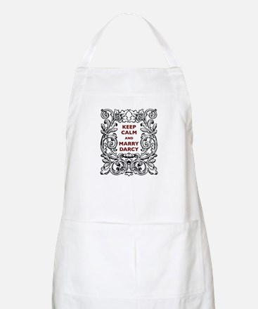 Keep Calm and Marry Darcy Apron