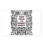 Keep Calm and Marry Darcy Postcards (Package of 8)