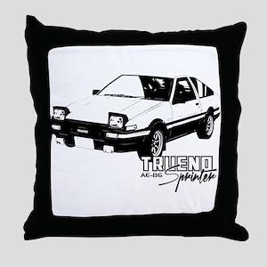 AE-86 Throw Pillow