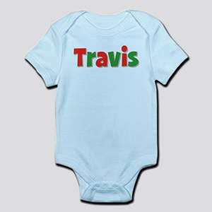Travis Christmas Infant Bodysuit