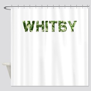 Whitby, Vintage Camo, Shower Curtain