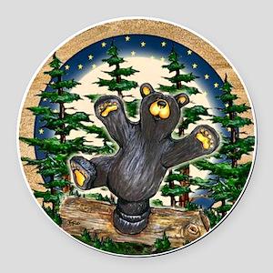 Bear Best Seller Round Car Magnet