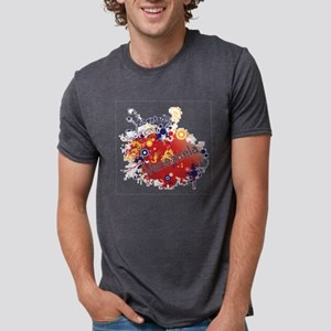 RETRO VENEZUELA Mens Tri-blend T-Shirt