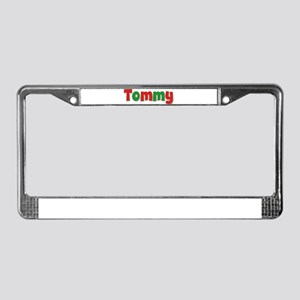 Tommy Christmas License Plate Frame