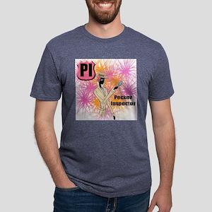 Pecker Inspector Mens Tri-blend T-Shirt