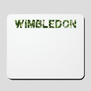 Wimbledon, Vintage Camo, Mousepad