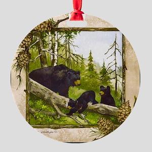 Best Seller Bear Round Ornament
