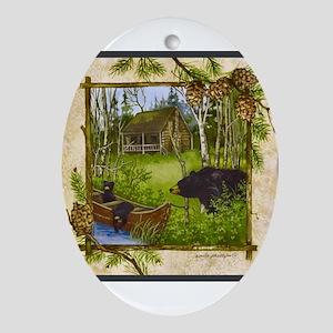 Best Seller Bear Ornament (Oval)