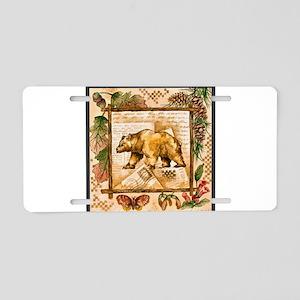 Best Seller Bear Aluminum License Plate