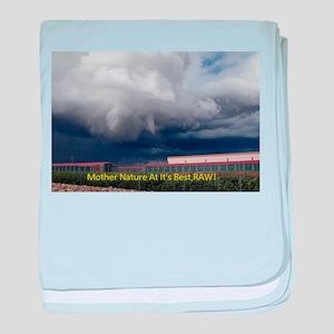 Tornado Rampage Season baby blanket