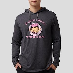 Papaws little monkey (girl) Mens Hooded Shirt