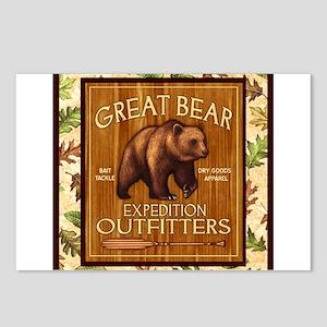 Bear Best Seller Postcards (Package of 8)