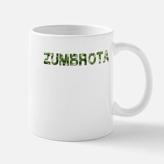 Zumbrota, Vintage Camo, Mug