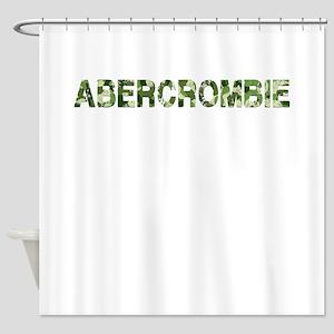 Abercrombie, Vintage Camo, Shower Curtain