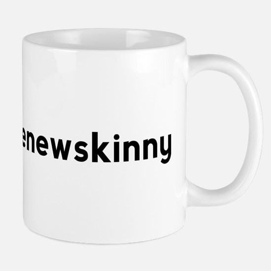 Strong is the New Skinny Hashtag Mug