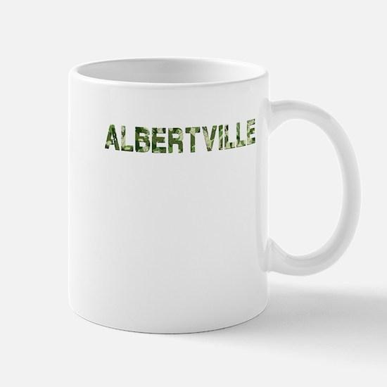 Albertville, Vintage Camo, Mug