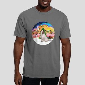 R-XmasMusic2-ClumberSpan Mens Comfort Colors Shirt