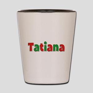 Tatiana Christmas Shot Glass