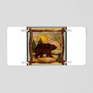 Bear Best Seller Aluminum License Plate