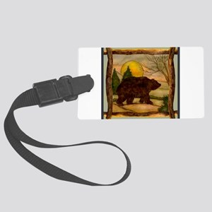 Bear Best Seller Large Luggage Tag