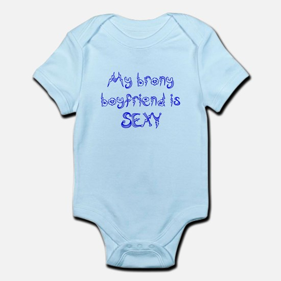 Sexy Brony Boyfriend Infant Bodysuit