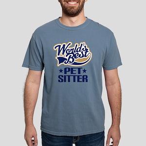 wb pet sitter bluetan.pn Mens Comfort Colors Shirt