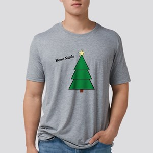 Buon Natale Mens Tri-blend T-Shirt