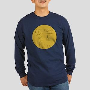 Voyager Plaque - Vger Long Sleeve Dark T-Shirt