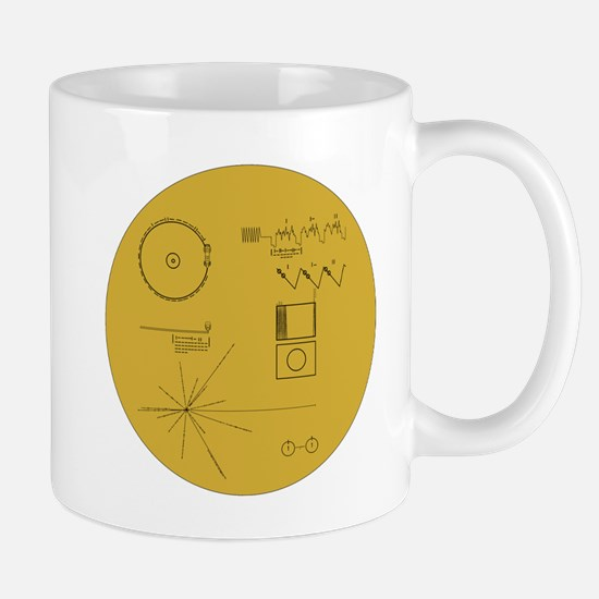 Voyager Plaque - Vger Mug