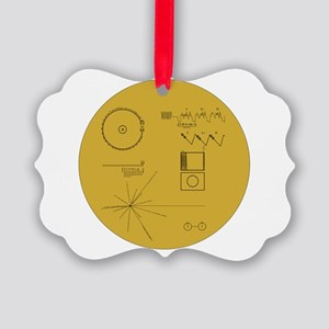 Voyager Plaque - Vger Picture Ornament
