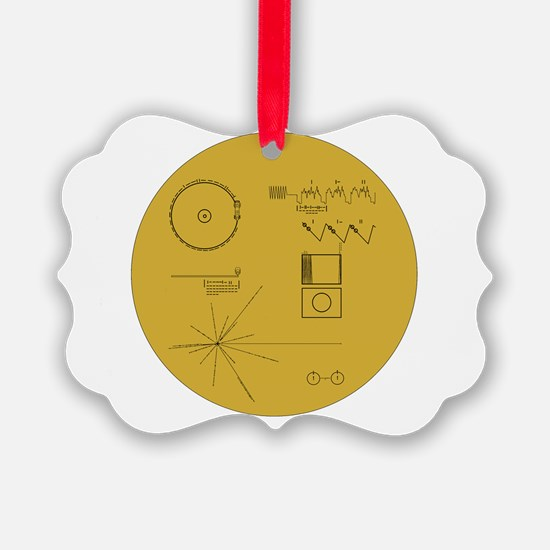 Voyager Plaque - Vger Ornament