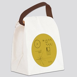 Voyager Plaque - Vger Canvas Lunch Bag