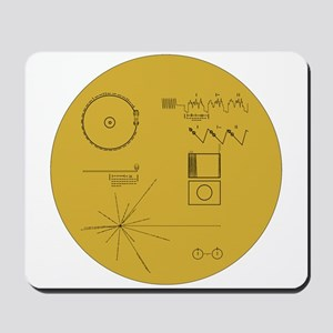 Voyager Plaque - Vger Mousepad