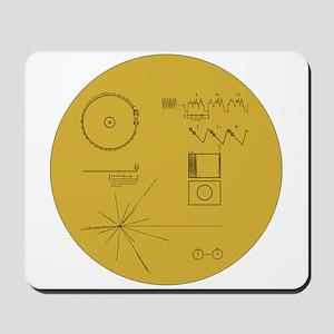 Voyager Plaque - Vger Mousepad