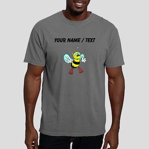Custom Friendly Bee Mens Comfort Colors Shirt