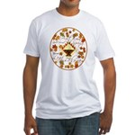 Autumn, Gods Second Spring Fitted T-Shirt