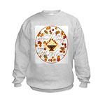 Autumn, Gods Second Spring Kids Sweatshirt