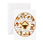 Autumn, Gods Second Spring Greeting Cards (Package