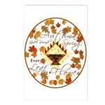 Autumn, Gods Second Spring Postcards (Package of 8