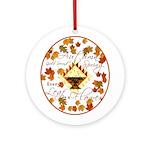 Autumn, Gods Second Spring Ornament (Round)