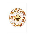 Autumn, Gods Second Spring Rectangle Sticker