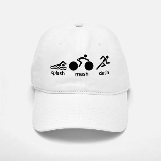 Splash Mash Dash Baseball Baseball Cap