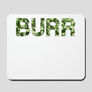Burr, Vintage Camo, Mousepad