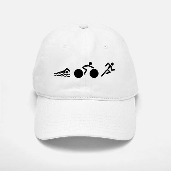 Triathlon Icons Baseball Baseball Cap