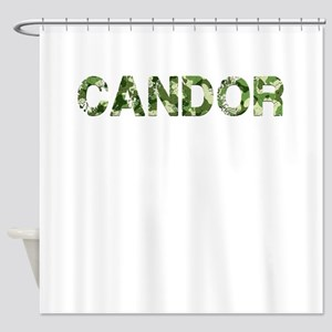 Candor, Vintage Camo, Shower Curtain
