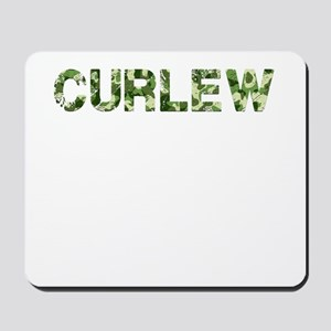 Curlew, Vintage Camo, Mousepad