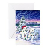 Polar bear Greeting Cards (10 Pack)