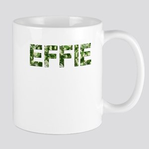 Effie, Vintage Camo, Mug