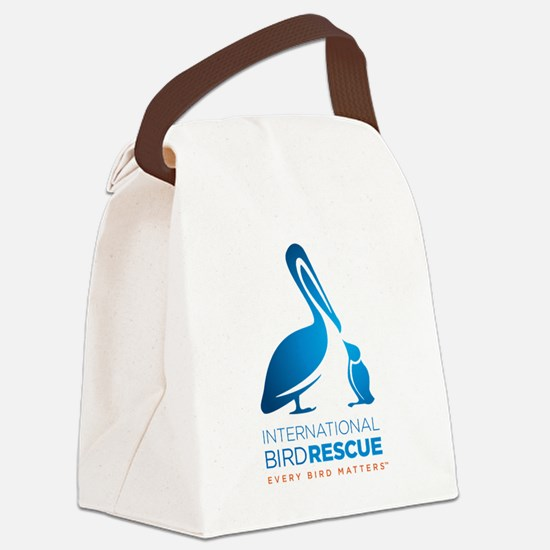 Cute Birding Canvas Lunch Bag