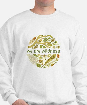 We Are Wildness Art Sweater
